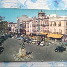 Postales: POSTAL BADAJOZ, PLAZA DE ESPAÑA. Lote 244665080