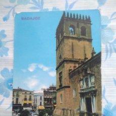 Postales: POSTAL BADAJOZ, CATEDRAL. Lote 244667270