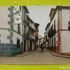 Postales: BAÑOS DE MONTEMAYOR CALLE QUEIPO DE LLANO ED SALVADOR BARRUECO SC Nº 9 CACERES EXTREMADURA. Lote 245464655