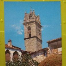 Postales: BAÑOS DE MONTEMAYOR CAMPANARIO IGLESIA ED PERLA SC Nº 101 CACERES EXTREMADURA RARA. Lote 245467895