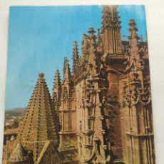 Postales: PLASENCIA - CATEDRAL TORRE DEL MELON 1971. ARRIBAS Nº2006. CIRCULADA. Lote 245969075