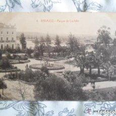 Postales: ANTIGUA POSTAL BADAJOZ - PARQUE DE CASTELAR - NUMERO 6 - EDICION CASA ARQUEROS. Lote 248312170