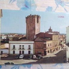 Cartes Postales: POSTAL CORIA CACERES, PLAZA ALVAREZ DE CASTRO. Lote 248789495