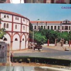 Postales: ANTIGUA POSTAL PLAZA TOROS CACERES EDICIONES PARIS 857. Lote 251797890