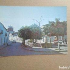 Postais: POSTAL CAMPILLO DE LLERENA, BADAJOZ, PUENTE Y PLAZA DE SAN BARTOLOME. Lote 253818710