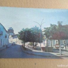 Postales: POSTAL CAMPILLO DE LLERENA, BADAJOZ, PUENTE Y PLAZA DE SAN BARTOLOME. Lote 255524995
