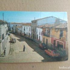 Postales: POSTAL GARROVILLAS CACERES,N 7, CALLE RAMON Y CAJAL, ANTES CORREDERA. Lote 255525905