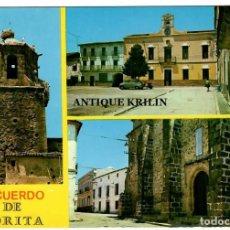 Postales: ZORITA / CACERES / RECUERDO DE ZORITA / EDICIONES A. FUENTES / CIRCULADA. Lote 255542855