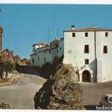 Cartes Postales: EM0614 CACERES SANTUARIO DE NTRA SRA DE LA MONTAÑA 1968 ESCUDO DE ORO Nº6 SEAT 600. Lote 256009245