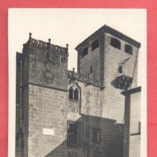 Postales: CACERES CASA DE LOS GOLFINES .SIGLO XVI EDI. GM / B W, SIN CIRCULAR,VER FOTOS. Lote 258802720