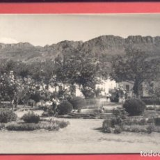 Postales: CABEZA DEL BUEY (BADAJOZ) 2 PARQUE MUNICIPAL, ED. ALARDE, CIRCULADA 1967 SIN SELLO, VER FOTOS. Lote 258863395