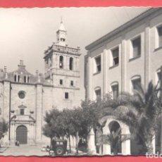 Postales: VILLANUEVA DE LA SERENA (BADAJOZ) 4 PLAZA DE ESPAÑA, LIBRERIA MORCILLO, DENTADA, S/C, VER FOTOS. Lote 258873255
