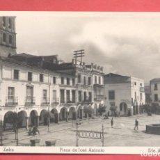 Postales: ZAFRA (BADAJOZ) 25 PLAZA DE JOSE ANTONIO, EDC. ARRIBAS, SIN CIRCULAR, VER FOTOS. Lote 258878195