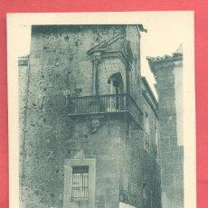 Postales: CACERES, PALACIO DE GODOY ,,ED.EULOGIO BLASCO, VERSION VERDE, S/C VER FOTOS. Lote 258972005