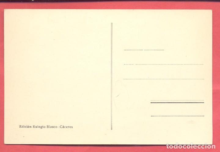 Postales: caceres, palacio de godoy ,,ed.eulogio blasco, version verde, s/c ver fotos - Foto 2 - 258972005