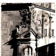 Cartes Postales: TRUJILLO (CÁCERES) - BALCÓN DEL PALACIO DEL DUQUE SAN CARLOS - ED. ARRIBAS - 135X88MM.. Lote 259263965
