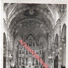 Cartoline: ALMENDRALEJO, BADAJOZ, NAVE Y ALTAR MAYOR DE LA PARROQUIA, EDICIONES ARRIBAS, NUM.30. Lote 260737660