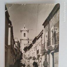 Postales: SAN VICENTE DE ALCÁNTARA - CALLE CASTELAR - P50606. Lote 260775120