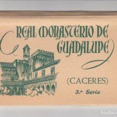 Postales: REAL MONASTERIO DE GUADALUPE (CÁCERES). Lote 262101885