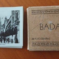 Postales: BADAJOZ, BLOC 20 FOTOGRAFÍAS MANUEL DURÁN, GRAN CALIDAD, PERFECTAS. Lote 263129735