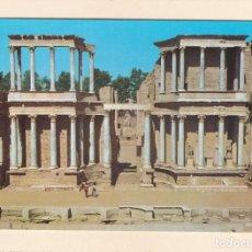 Postales: MERIDA (BADAJOZ). TEATRO ROMANO (1977). Lote 266333318
