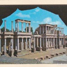 Postales: MERIDA (BADAJOZ). ESCENA DEL TEATRO ROMANO (1972). Lote 266333348