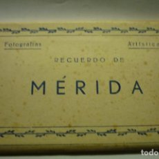 Postales: TACO ACORDEON MERIDA.-EDICIONES ARRIBAS --SON DE COLOR MARRON CM. Lote 266589158