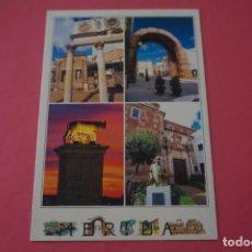 Postales: POSTAL SIN CIRCULAR DE MERIDA PALACIO MUSEO ARCO DE TRAJANO PORTICO DEL FORO MONUMENTO LOTE 34. Lote 268275019