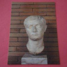 Postales: POSTAL SIN CIRCULAR DE MERIDA MUSEO NACIONAL DEL ARTE ROMANO TIBERIO LOTE 34. Lote 268275789
