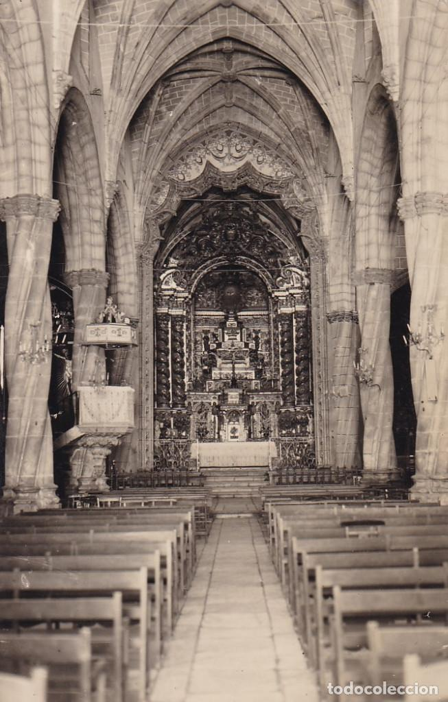 BADAJOZ OLIVENZA INTERIOR SANTA MARIA MAGDALENA. ED. ALARDE OVIEDO. Nº 6. CIRCULADA (Postales - España - Extremadura Antigua (hasta 1939))