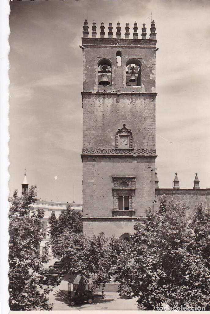 BADAJOZ TORRE DE LA CATEDRAL. ED. GARRABELLA Nº 25. CIRCULADA (Postales - España - Extremadura Antigua (hasta 1939))