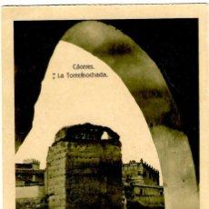 Postales: CÁCERES - LA TORREMOCHADA - ED. EULOGIO BLASCO - TONALIDAD VERDOSA - 139X90 MM. Lote 268723939