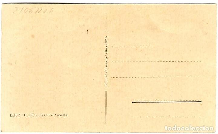 Postales: Cáceres - La Torremochada - Ed. Eulogio Blasco - Tonalidad verdosa - 139x90 mm - Foto 2 - 268723939
