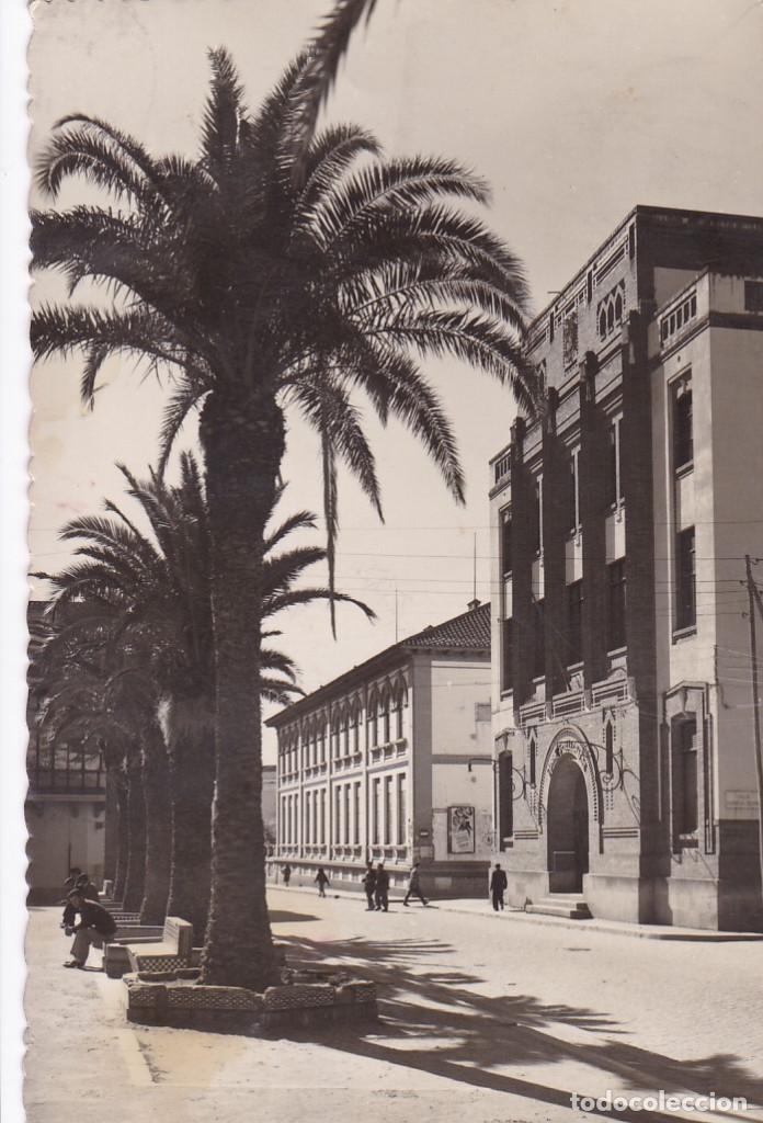 BADAJOZ CORREOS Y TELEGRAFOS. ED. EFO MADRID Nº 18. CIRCULADA (Postales - España - Extremadura Antigua (hasta 1939))