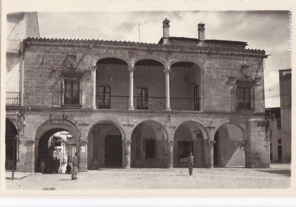 CACERES TRUJILLO CASA MARQUES SAN JUAN. ED. ARRIBAS Nº 4. SIN CIRCULAR (Postales - España - Extremadura Antigua (hasta 1939))