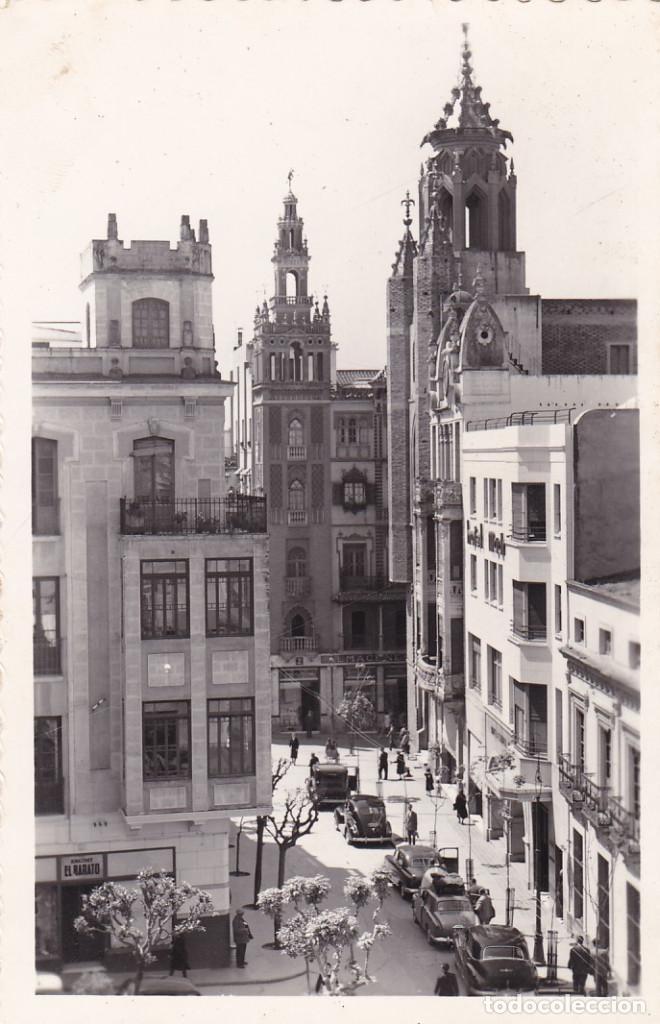 BADAJOZ HOTEL MADRID EN LA PLAZA DE LA SOLEDAD. ED. ARRIBAS Nº 64. SIN CIRCULAR (Postales - España - Extremadura Antigua (hasta 1939))