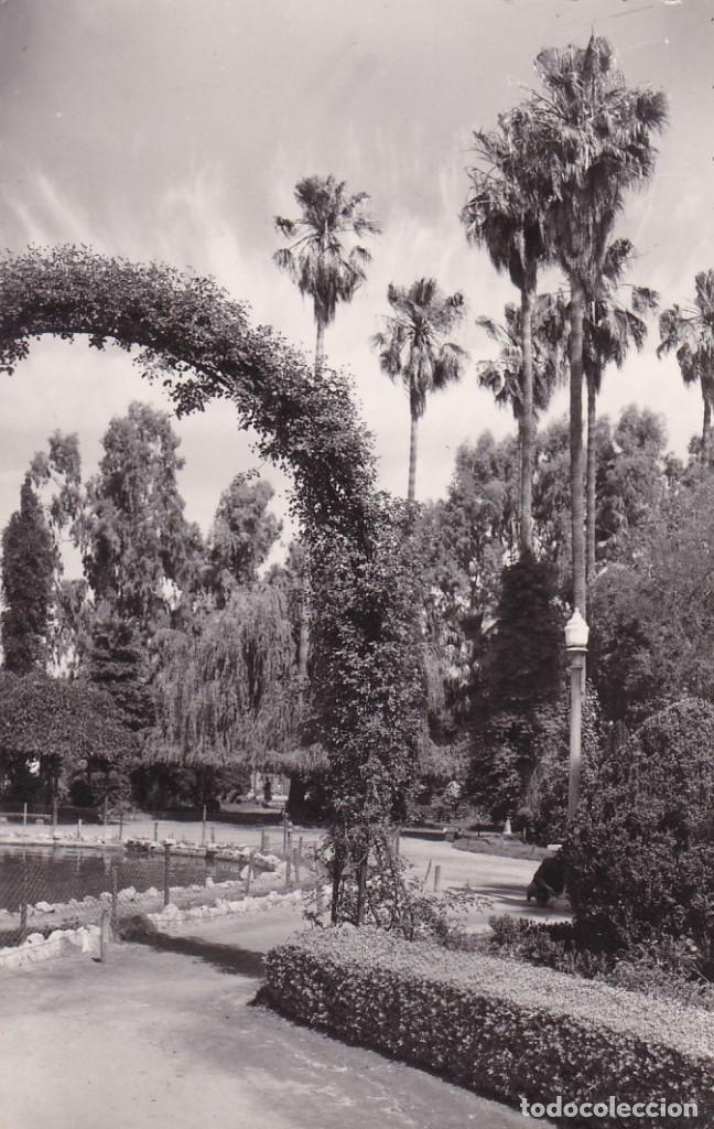 BADAJOZ PARQUE DE CASTELAR. ED. GARRABELLA Nº 16. SIN CIRCULAR (Postales - España - Extremadura Antigua (hasta 1939))