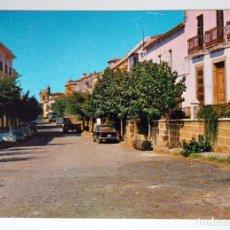 Postales: POSTAL DE CAÑAVERAL ( CACERES). CALLE REAL. Lote 269111693