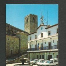 Postales: POSTAL SIN CIRCULAR JARANDILLA DE LA VERA 2 (CACERES) PLAZA MAYOR EDITA FOTO AMANCIO. Lote 269785913