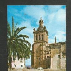 Postales: POSTAL SIN CIRCULAR CORIA 18 (CACERES) CATERAL FACHADA PRINCIPAL EDITA ARRIBAS. Lote 269786148