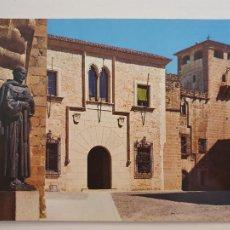Postales: CÁCERES - DIPUTACIÓN Y PALACIO DE LOS GOLFINES DE ABAJO - LAXC - P53609. Lote 270899458