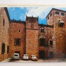 Postales: CÁCERES - PALACIO DE LOS GOLFINES DE ABAJO - CIRCULADA - LAXC - P53612. Lote 270899618