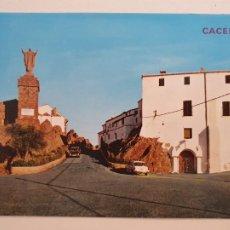 Postales: CÁCERES - SANTUARIO DE LA VIRGEN DE LA MONTAÑA - LAXC - P53618. Lote 270899873