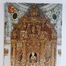 Postales: CÁCERES - SANTUARIO DE LA VIRGEN DE LA MONTAÑA - ALTAR Y RETABLO - LAXC - P53619. Lote 270899923