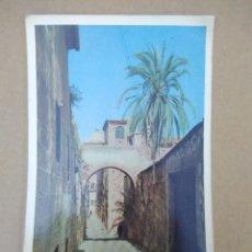 Postales: POSTAL 8 CACERES ADARVE DE LA ESTRELLA. Lote 270920848