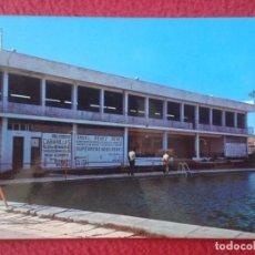 Postales: POST CARD MIAJADAS CÁCERES Nº 1 PISCINA LA PERLA PISCINE POSTALES SAN-PI 1972 CARTELES PUBLICIDAD.... Lote 271389303
