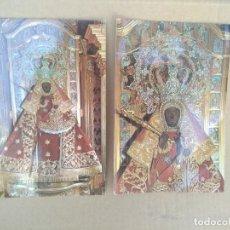 Postales: LOTE DE 2 POSTALES VIRGEN DE GUADALUPE PATRONA DE EXTREMADURA. Lote 271576138