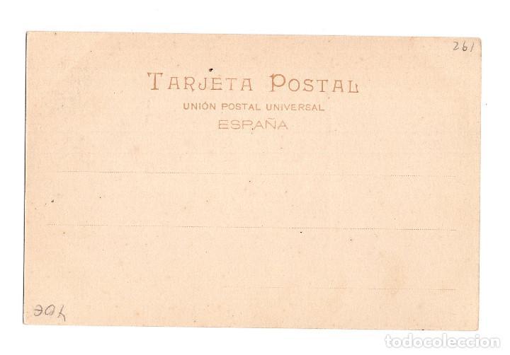 Postales: MÉRIDA.(BADAJOZ).- OBELISCO ROMANO Y ESTATUA DE SANTA EULALIA. - Foto 2 - 273285863