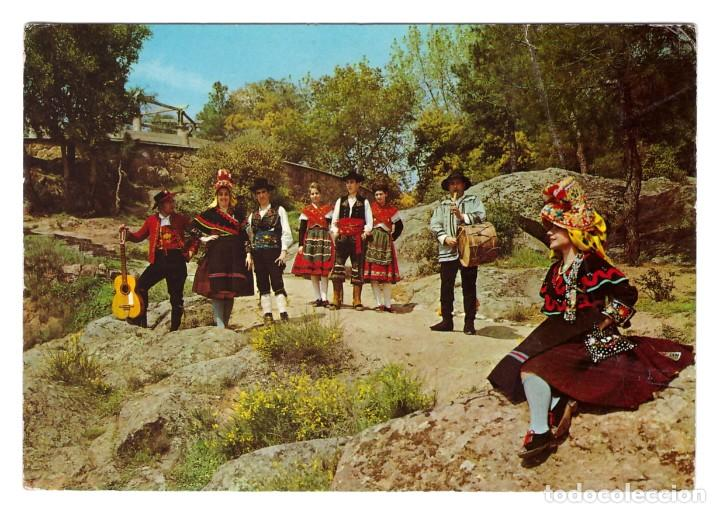 EXTREMADURA (ESPAÑA) - GRUPO TÍPICO EXTREMEÑO - CIRCULADA EN 1968 (Postales - España - Extremadura Moderna (desde 1940))