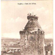 Postales: TRUJILLO (CÁCERES) TORRE DEL ALFILER.. Lote 275111608